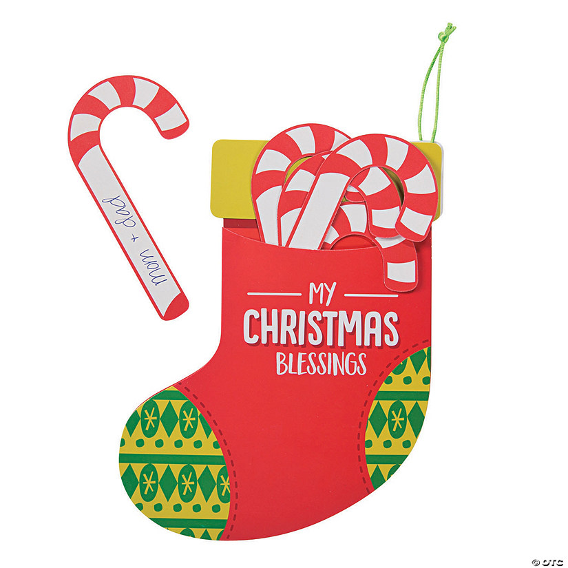 Christmas Blessings Stocking Craft Kit Audio Thumbnail