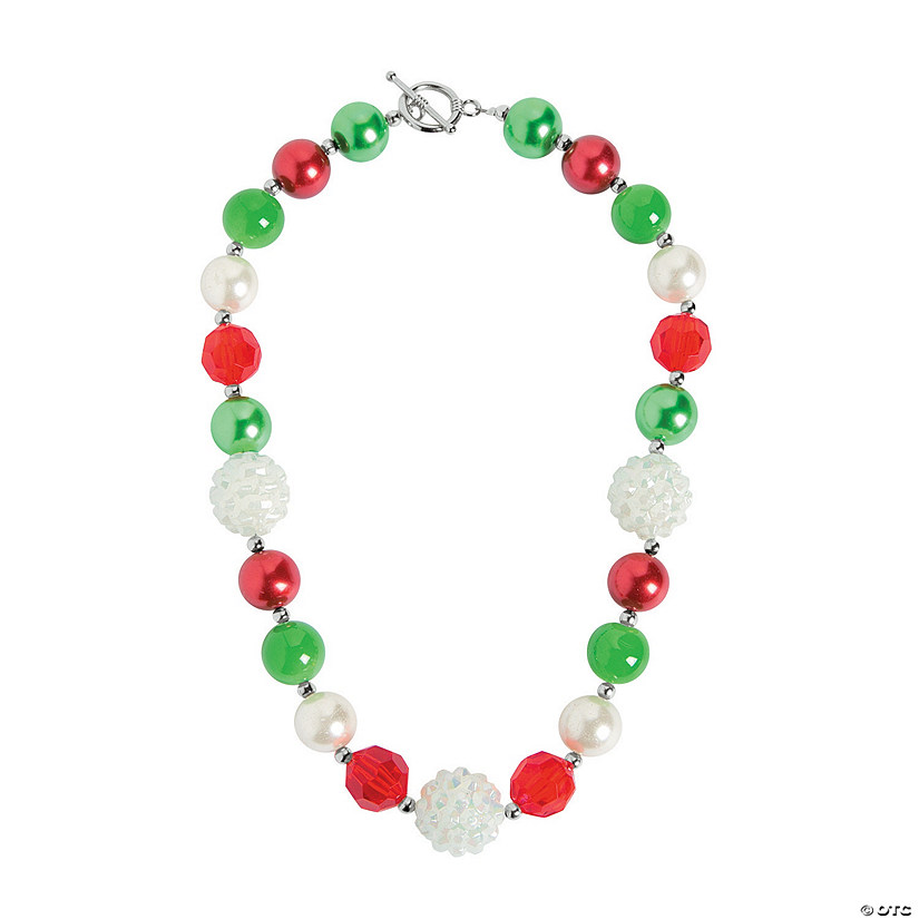 Christmas Chunky Necklace Craft Kit Audio Thumbnail