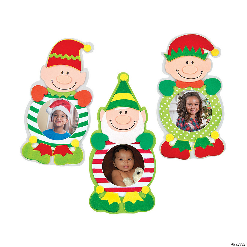 Christmas Elf Picture Frame Magnet Craft Kit Audio Thumbnail