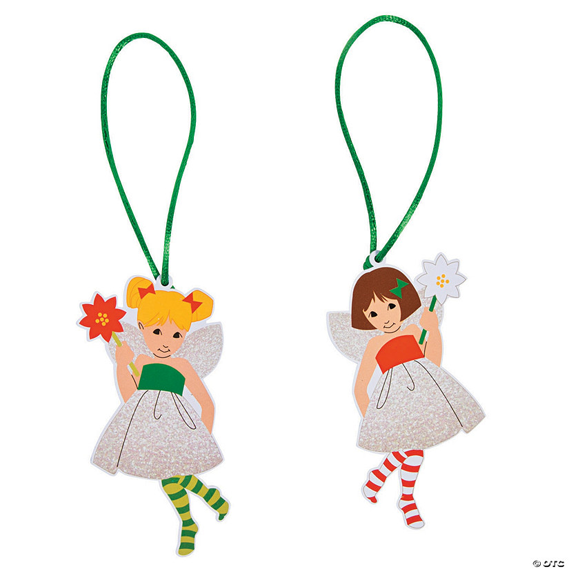 Christmas Fairy Ornaments