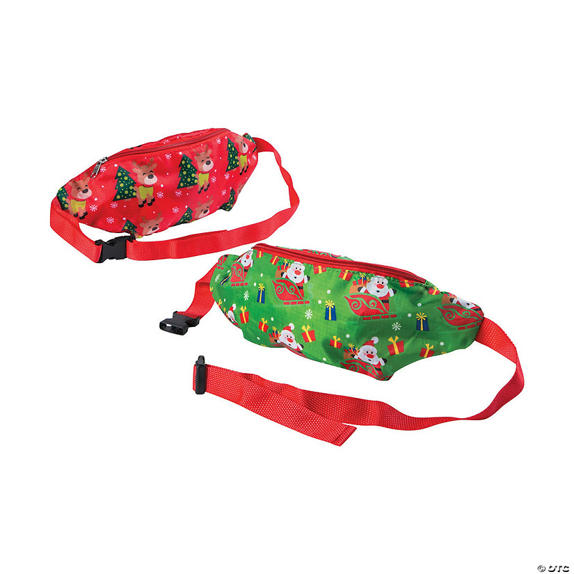 Christmas Fanny Packs Image Thumbnail