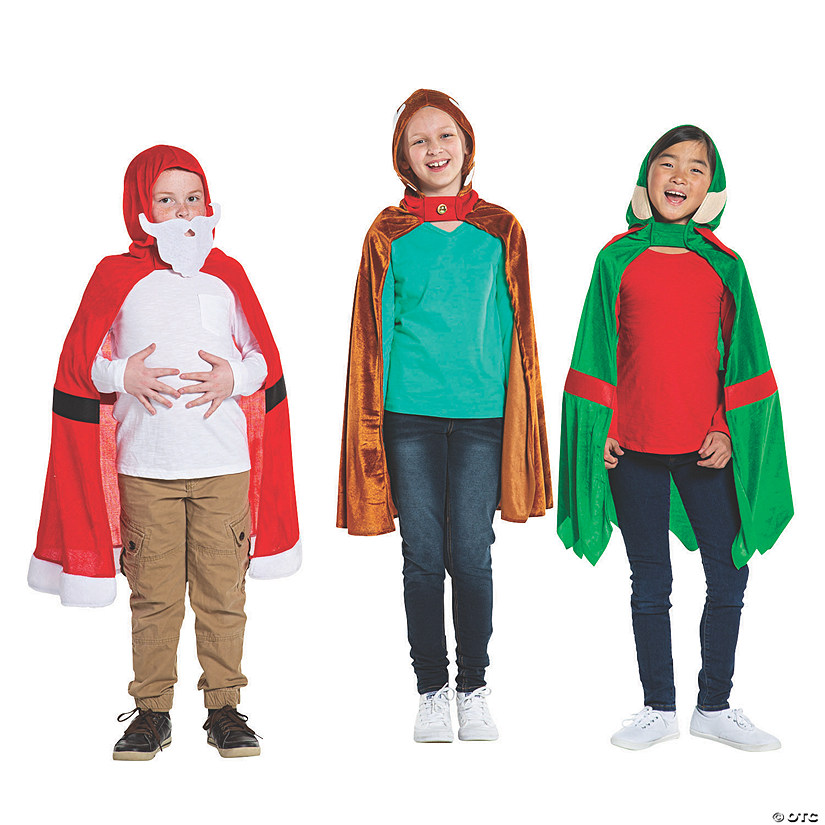 Christmas Hooded Cape Costumes Audio Thumbnail