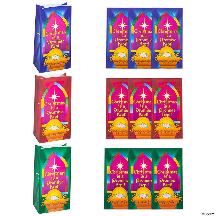 Christmas Is A Promise Kept Treat Bags Image Thumbnail
