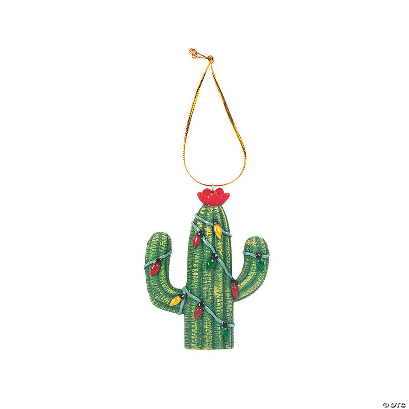Christmas Lights Cactus Ornaments Audio Thumbnail