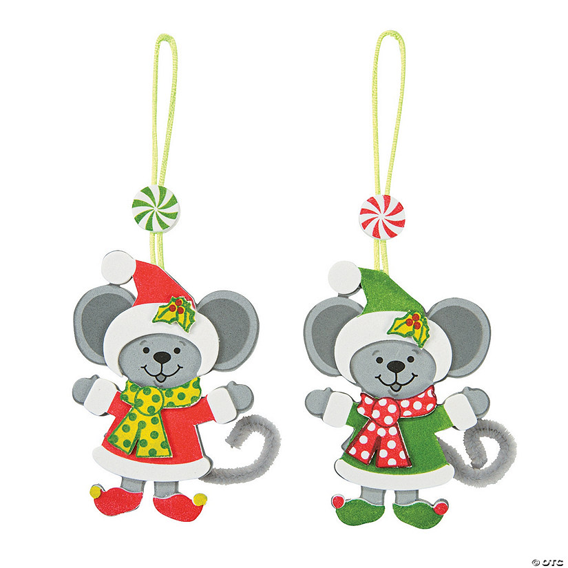 Christmas Mice Ornament Craft Kit Audio Thumbnail