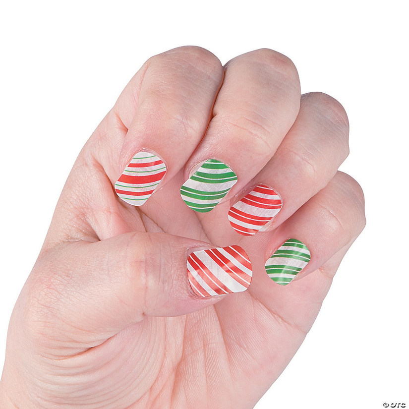 christmas nail decals