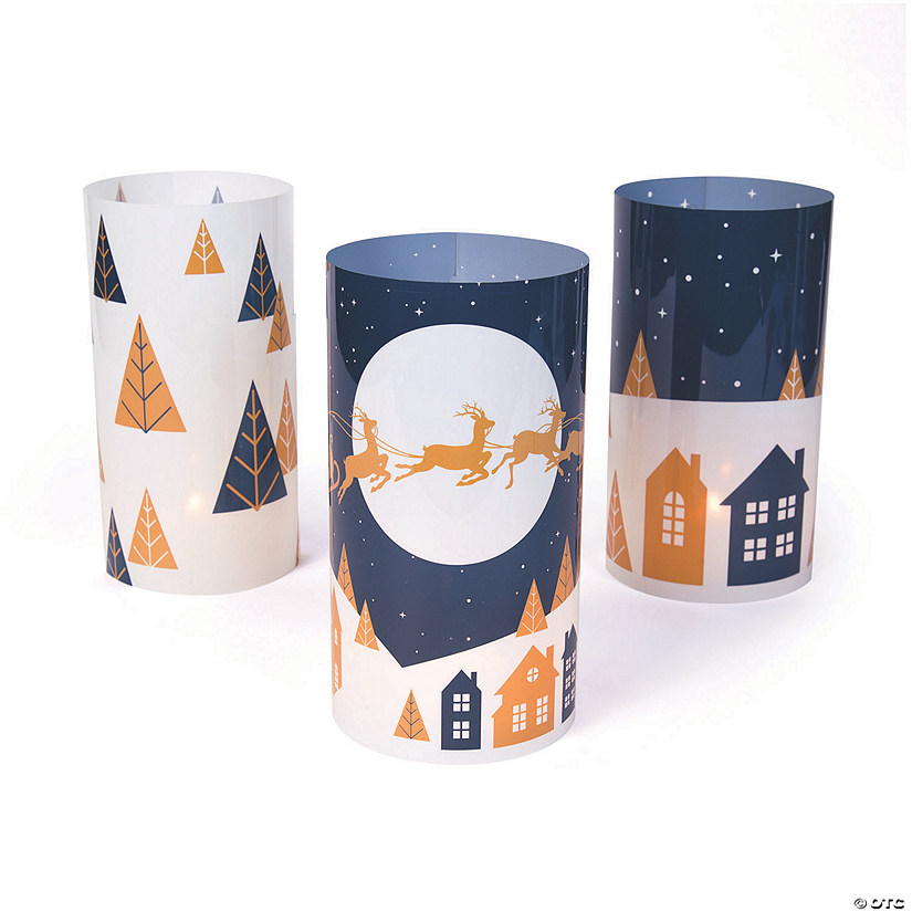 Christmas Night Luminary Wraps