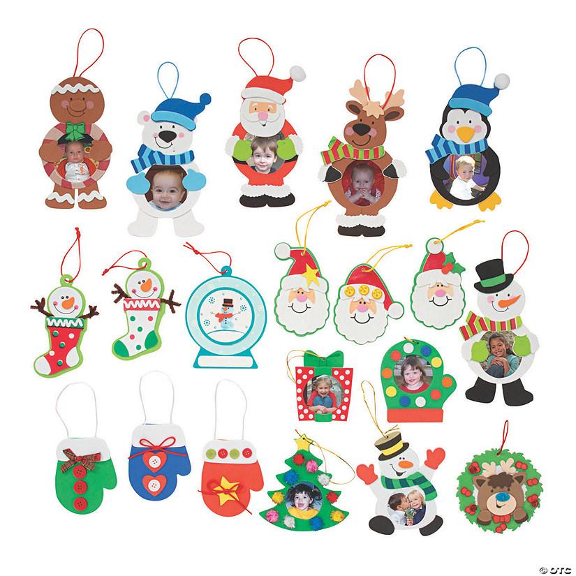 christmas ornament craft kit assortment