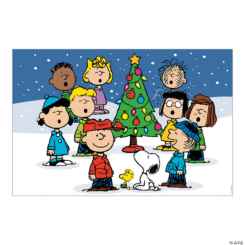christmas peanuts backdrop - Peanuts Christmas