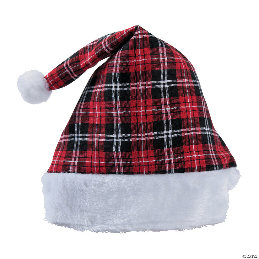 Christmas Plaid Santa Hat Audio Thumbnail