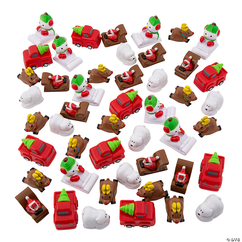Christmas Pull-Back Toy Assortment Audio Thumbnail
