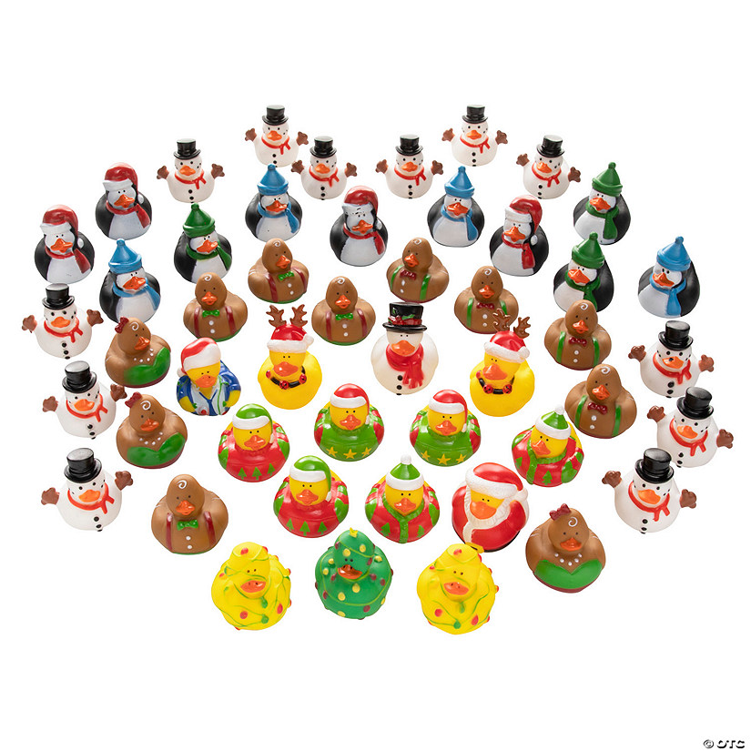 Christmas Rubber Ducky Assortment Audio Thumbnail