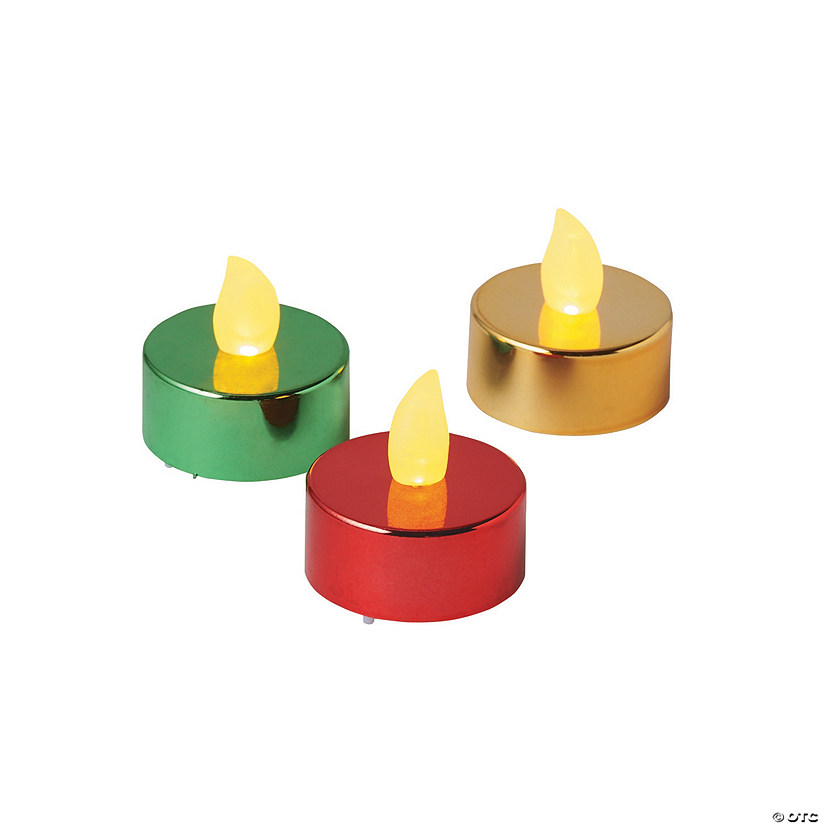 Christmas Sparkle Battery-Operated Tea Lights