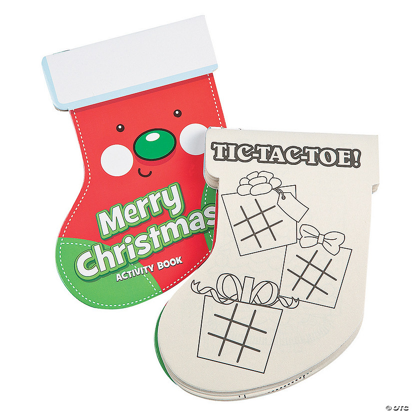 Christmas Stocking Activity Pads