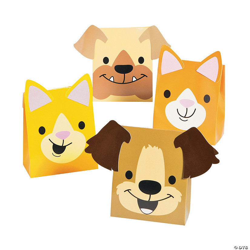 Christmas Tails Favor Boxes