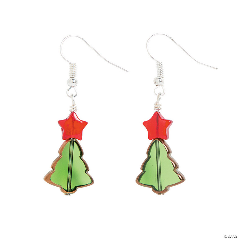 Christmas Tree Earring Craft Kit