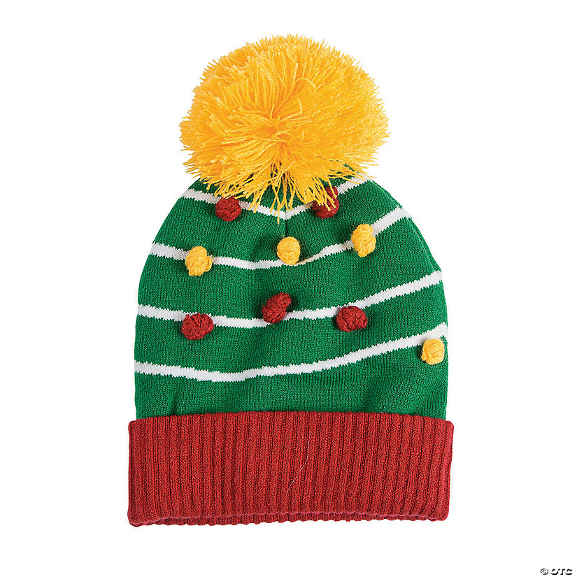 Christmas Tree Stocking Hat