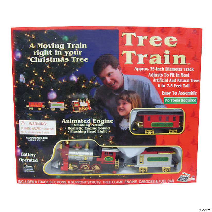 Christmas Tree Train Set Image Thumbnail