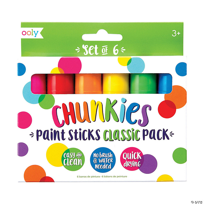 Chunkies Paint Sticks Set of 6 Image Thumbnail