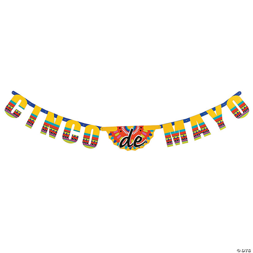 Cinco De Mayo Card Stock Jointed Banner Audio Thumbnail