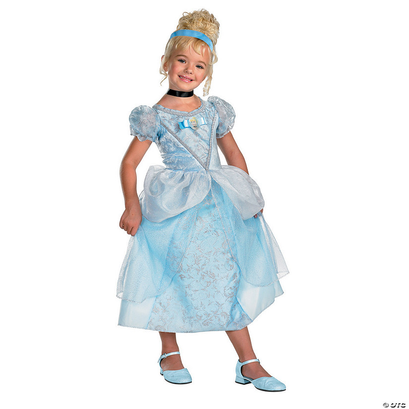 Cinderella Deluxe Princess Costume for Girls Audio Thumbnail