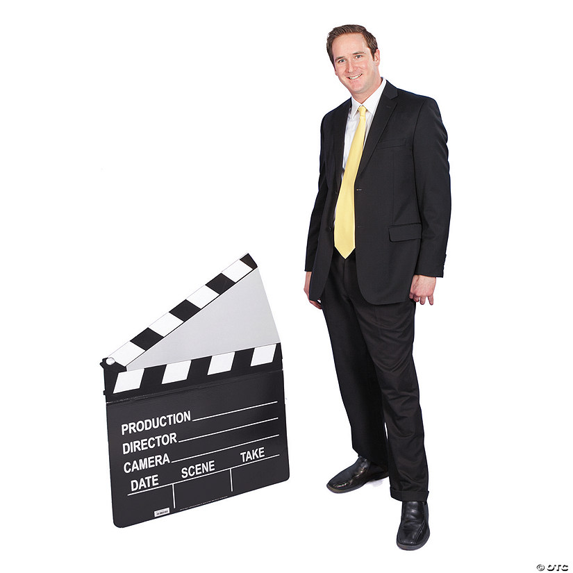 Clapboard Cardboard Stand-Up Audio Thumbnail