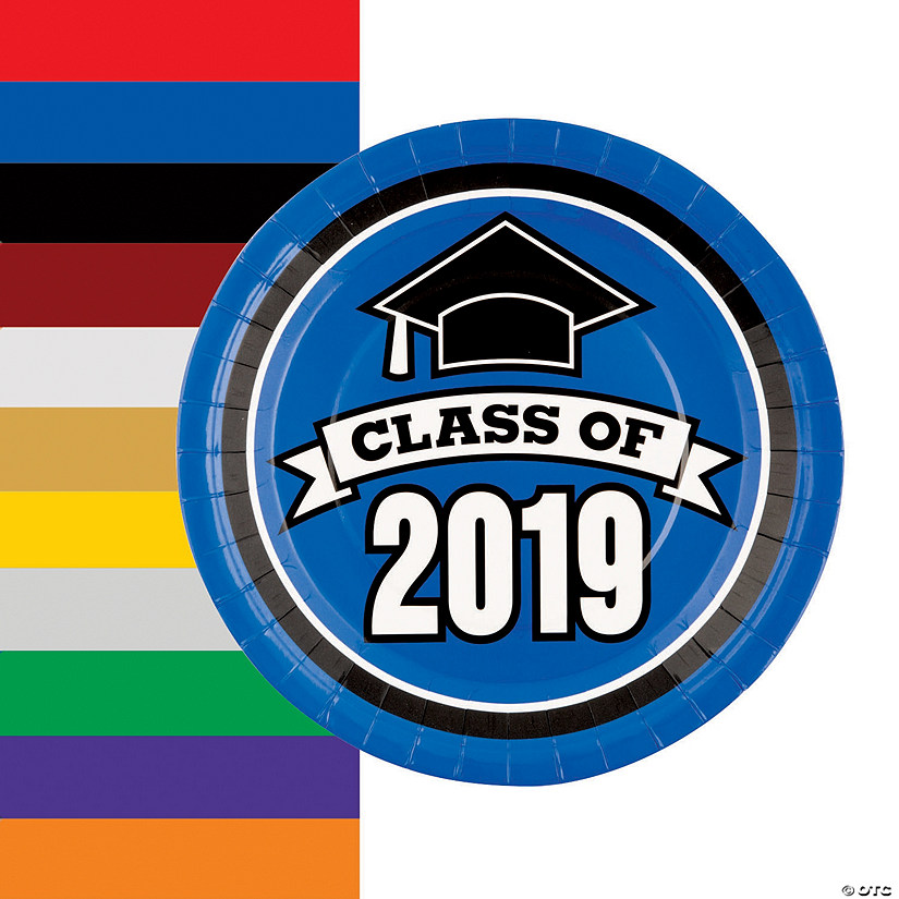Class of 2019 Paper Dinner Plates Audio Thumbnail