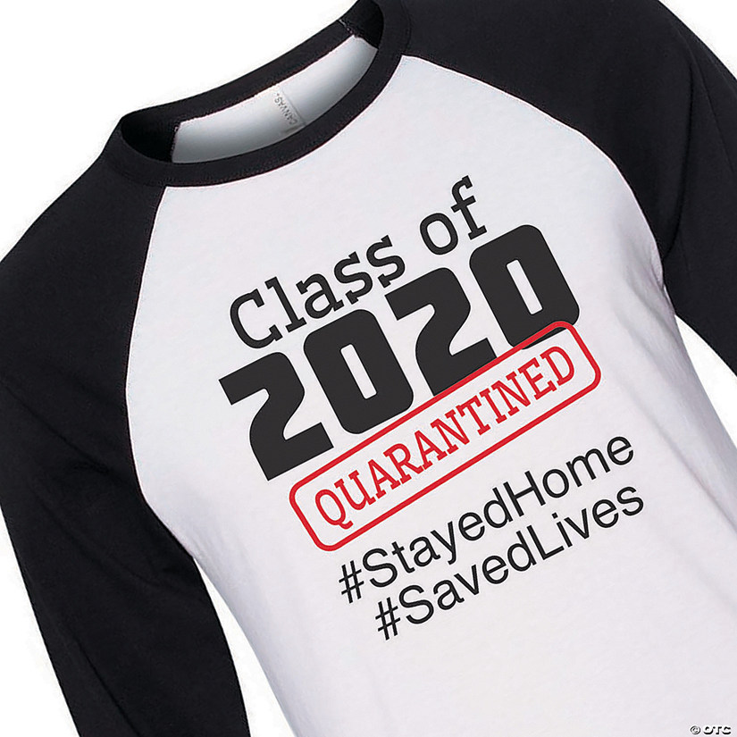 Class of 2020 Quarantined Adult's T-Shirt Audio Thumbnail