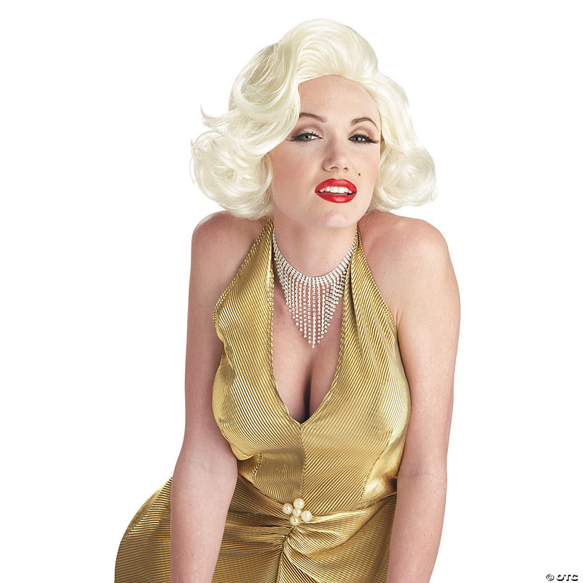 Classic Blonde Marilyn Monroe Wig Audio Thumbnail