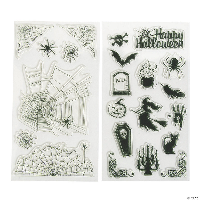 Clear Halloween Stamps Image Thumbnail