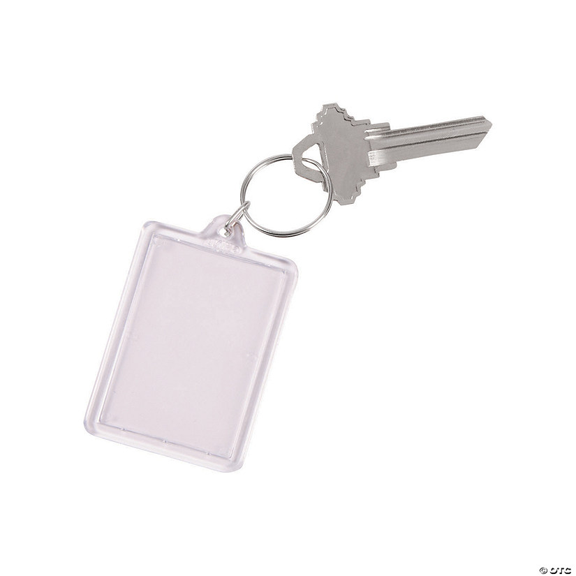 Clear Keychains Image Thumbnail