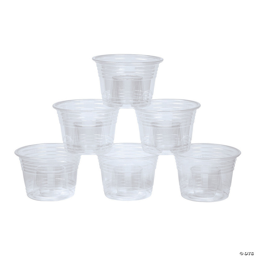 Clear Plastic Bomber Cups - 50 Pc. Audio Thumbnail