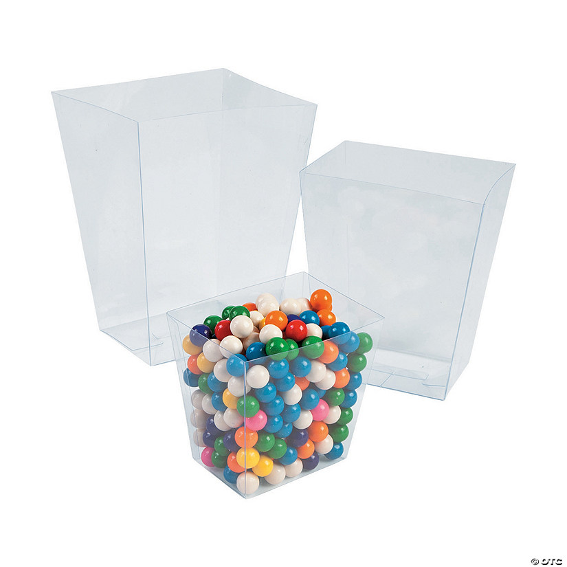 Clear Plastic Candy Containers Audio Thumbnail