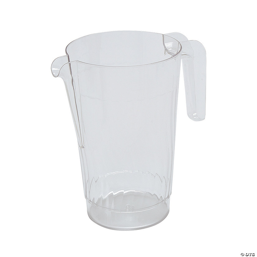 Clear Plastic Pitcher Image Thumbnail