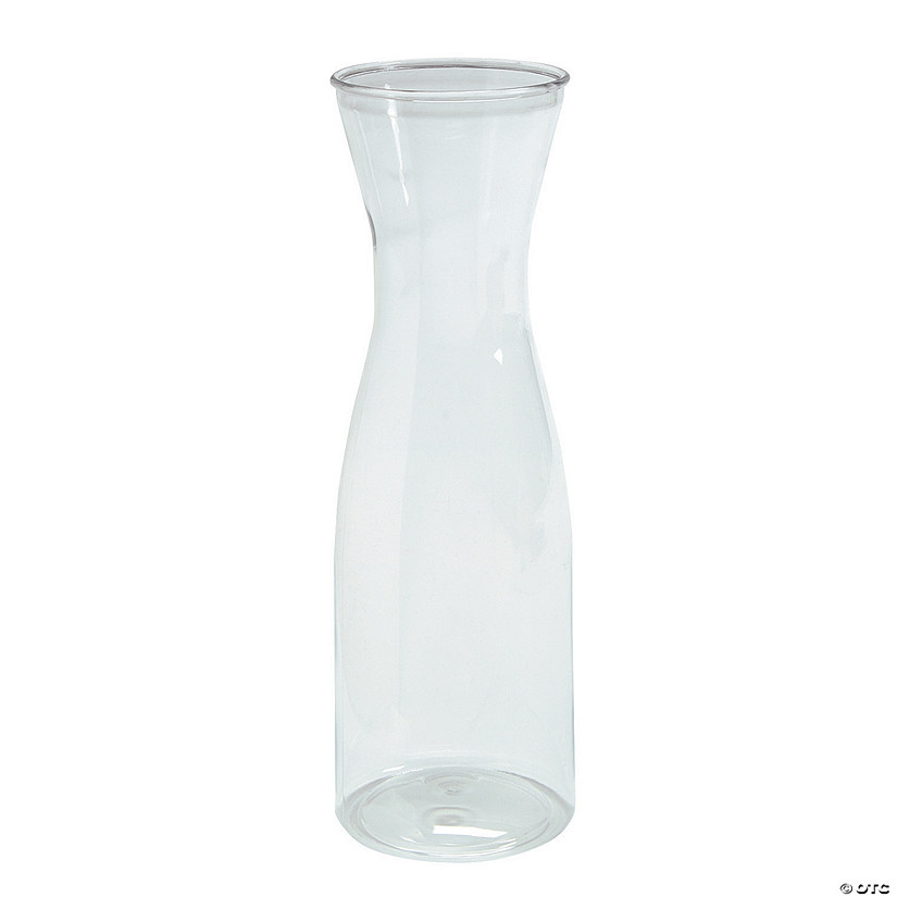 Clear Plastic Wine Carafe