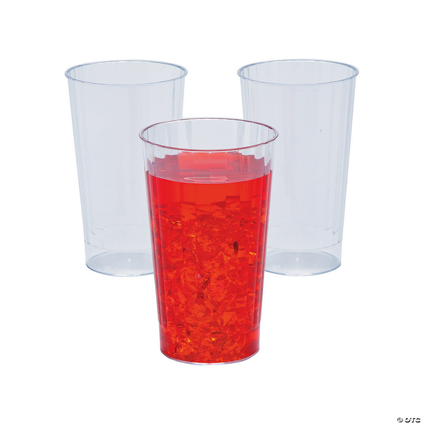 Clear Round Plastic Tumblers