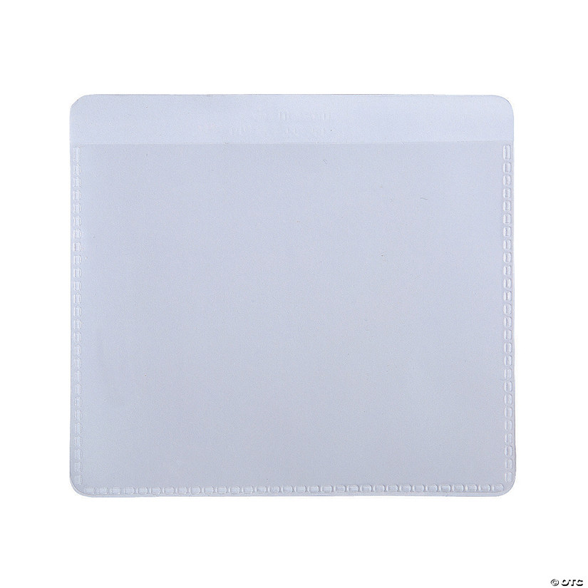 Clear Self-Adhesive Labeling Pockets Image Thumbnail