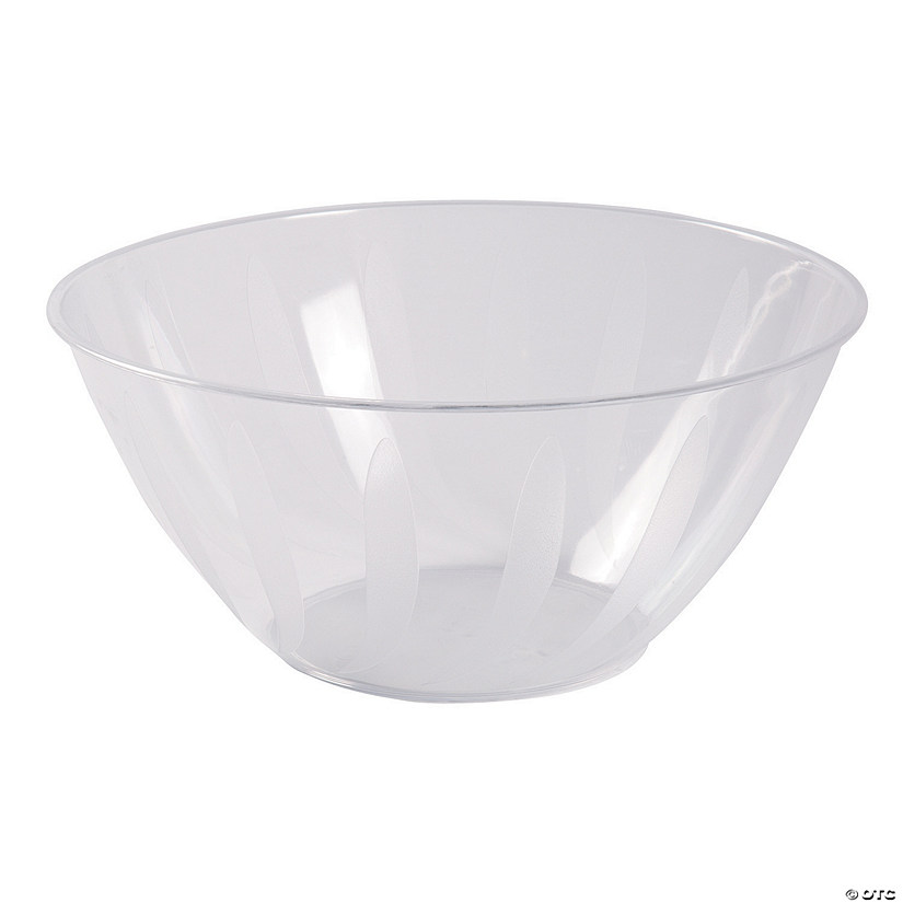 Clear Serving Bowl - 5 qt.
