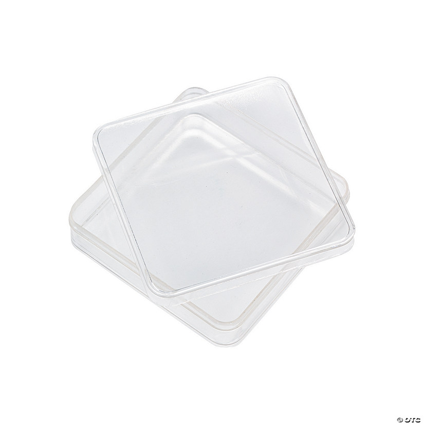 Clear Square Favor Containers Audio Thumbnail