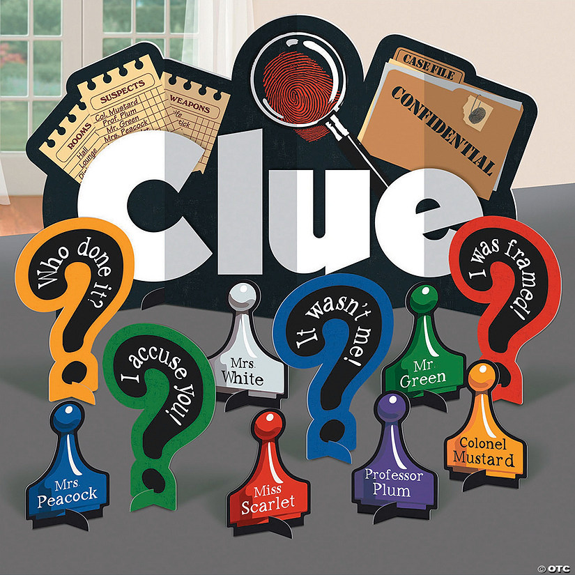 Clue<sup>&#174;</sup> Table Decorating Kit Audio Thumbnail