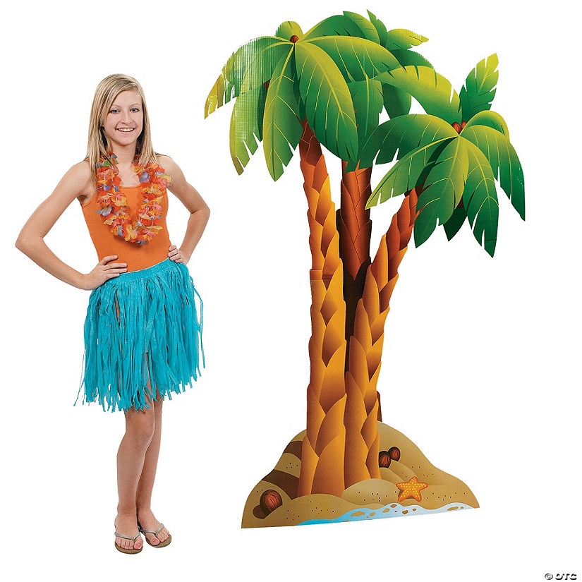 Cluster of Palm Trees Cardboard Stand-Up Audio Thumbnail