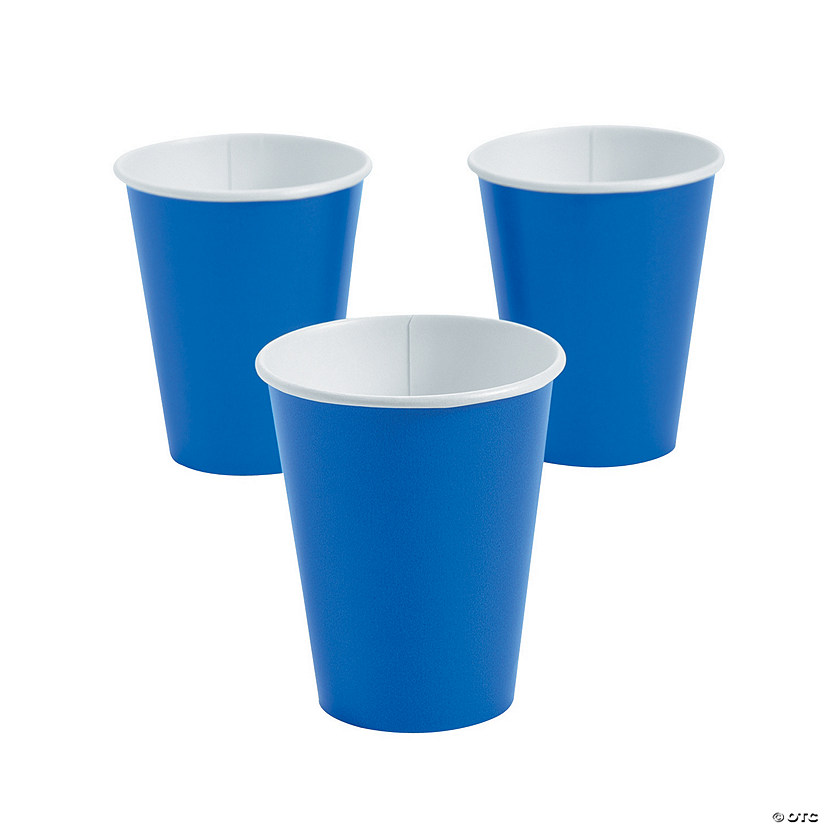 Cobalt Blue Paper Cups Audio Thumbnail