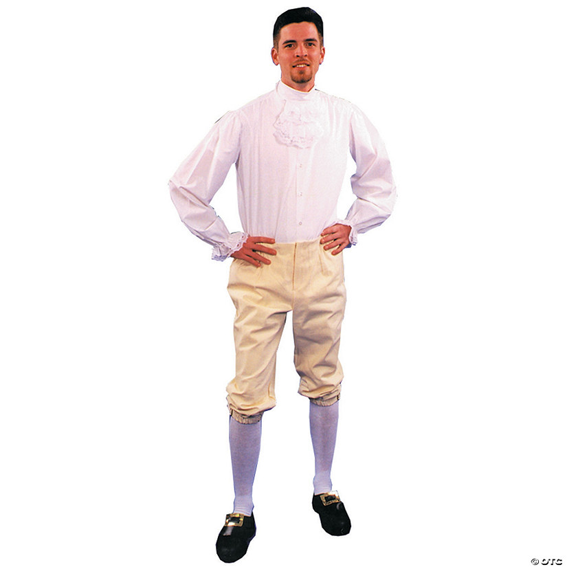 Colonial Breeches Halloween Costume for Men Audio Thumbnail
