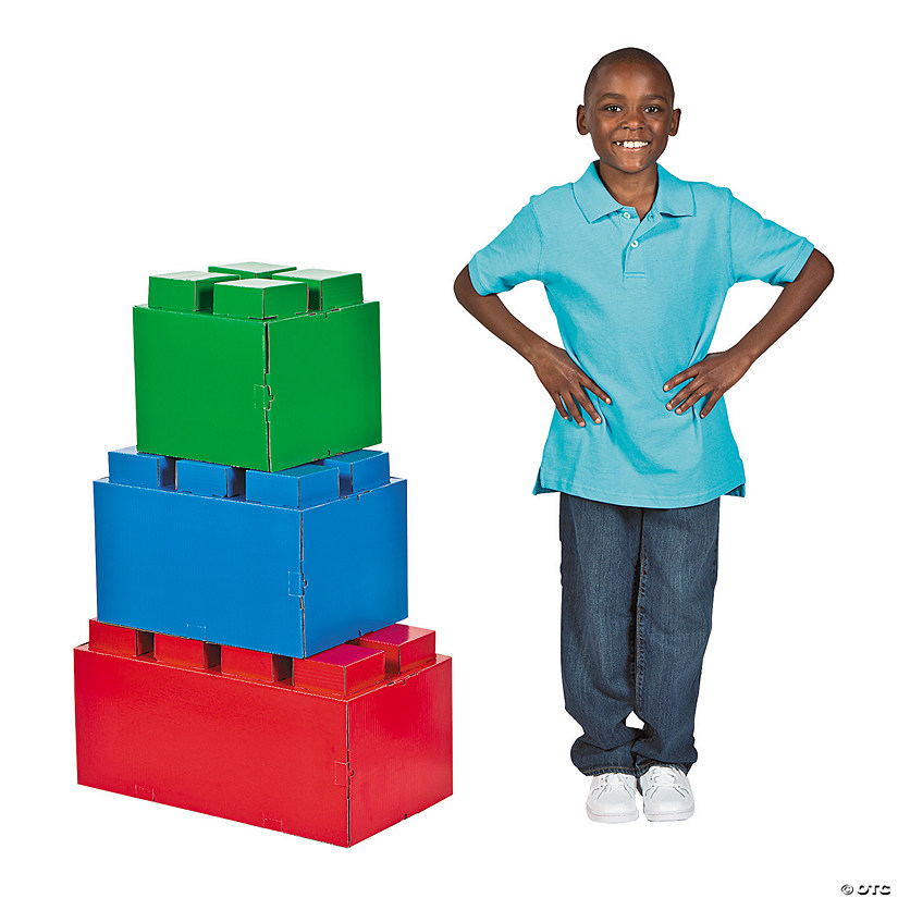 Color Brick Party 3D Cardboard Stand-Ups Audio Thumbnail