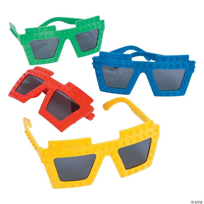 Color Brick Party Sunglasses