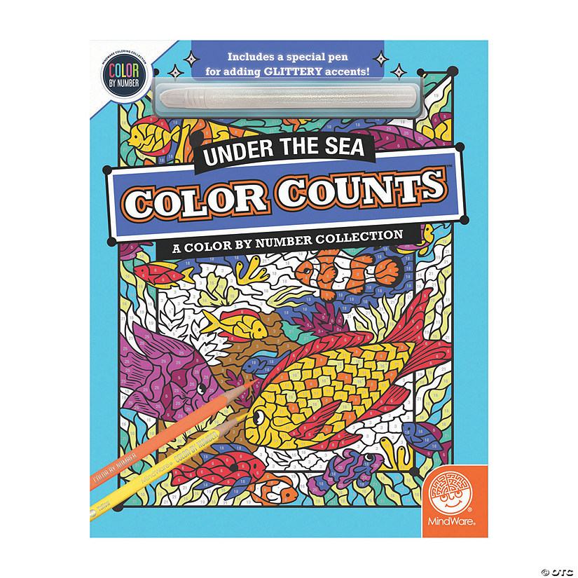 Color by Number Color Counts: Glitter Under The Sea Audio Thumbnail