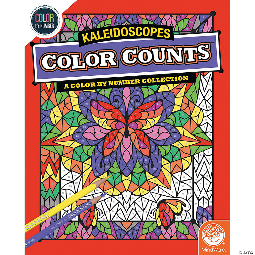 Color by Number Color Counts: Kaleidoscope Image Thumbnail