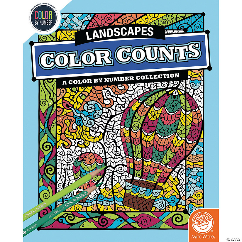 Color by Number Color Counts: Landscapes Audio Thumbnail