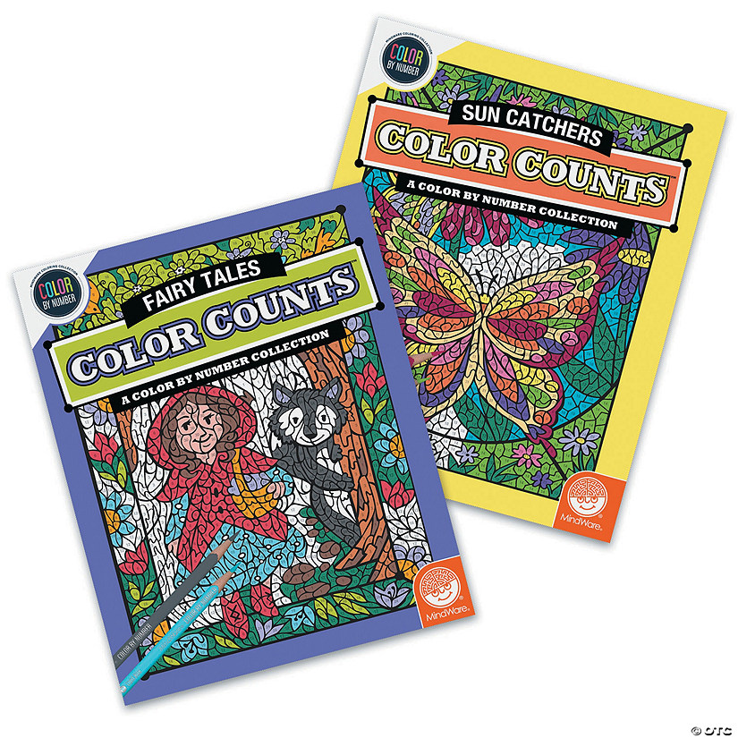 Color by Number Color Counts: Sun Catcher & Fairies Set of 2 Audio Thumbnail