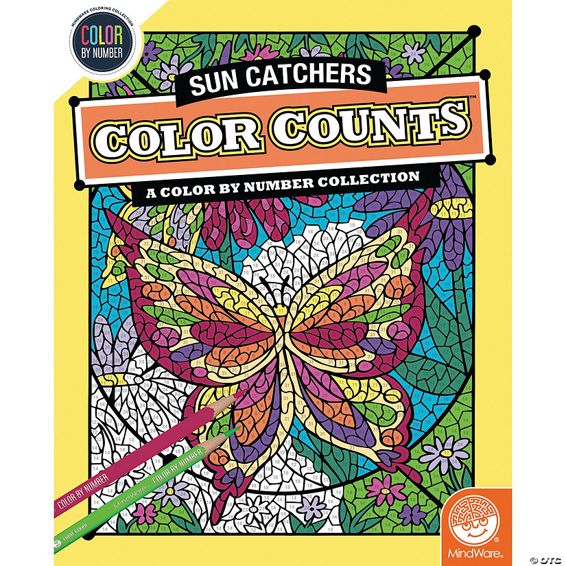 Color by Number Color Counts: Suncatchers Image Thumbnail